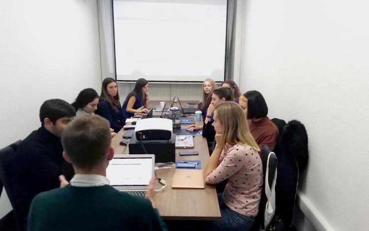 Наши выпускники в Москве